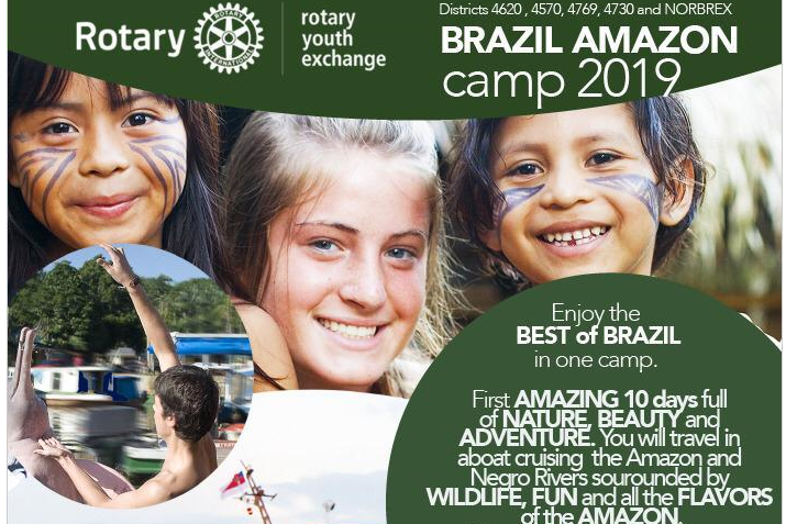 Brazil Amazon camp 2019   Rotary
