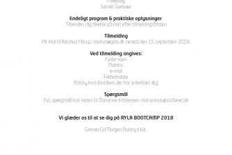 Hermed Invitation til RYLA